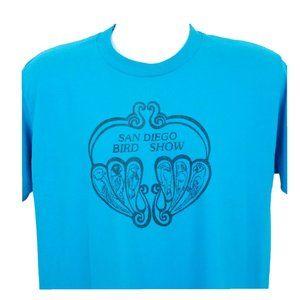 San Diego Bird Show T Shirt Size XL Vintage 90s
